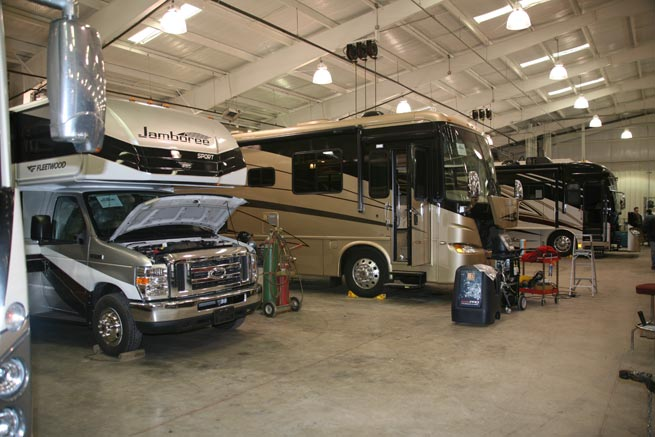 Rv Parts Amp Rv Service In Texas Texas Motorhome Dealer